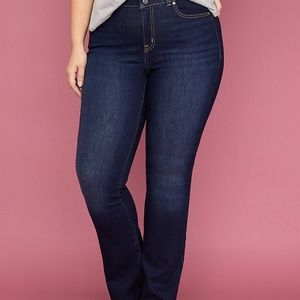 New Lane Bryant Stretch Boot Jeans Size 24